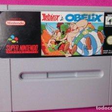 Videojuegos y Consolas: JUEGO SUPER NINTENDO ASTERIX & OBELIX. Lote 123318391