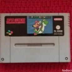 Videojuegos y Consolas: SUPER NINTENDO -SUPER MARIO WORLD-. Lote 123562840