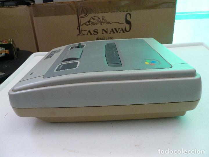 Videojuegos y Consolas: CONSOLA SUPER NINTENDO SNES - Foto 2 - 124799871