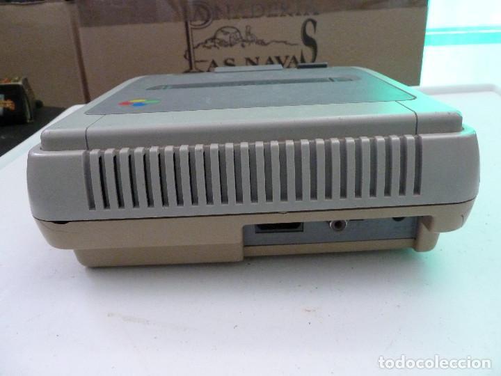 Videojuegos y Consolas: CONSOLA SUPER NINTENDO SNES - Foto 3 - 124799871
