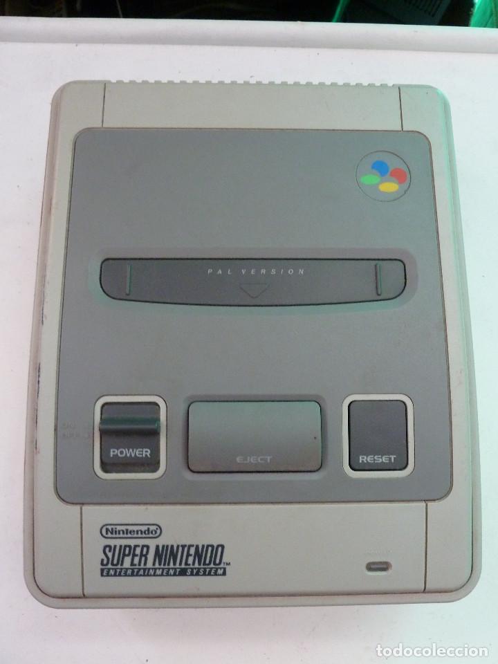 Videojuegos y Consolas: CONSOLA SUPER NINTENDO SNES - Foto 5 - 124799871