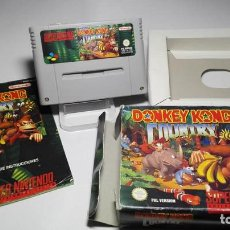 Videojuegos y Consolas: DONKEY KONG COUNTRY ( SNES- SUPER NINTENDO -PAL) J18. Lote 125721139