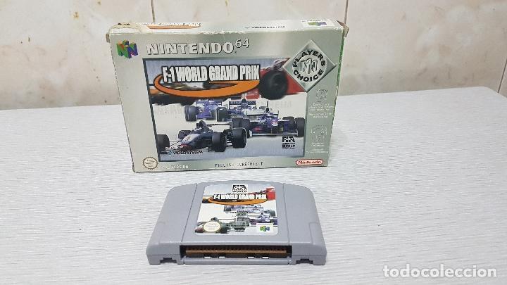 F-1 WORLD GRAND PRIX - NINTENDO 64 (Juguetes - Videojuegos y Consolas - Nintendo - SuperNintendo)