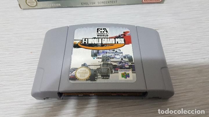 Videojuegos y Consolas: F-1 WORLD GRAND PRIX - NINTENDO 64 - Foto 2 - 126362911