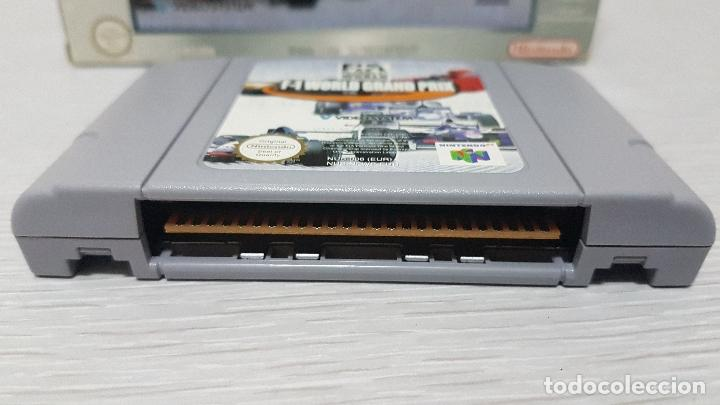 Videojuegos y Consolas: F-1 WORLD GRAND PRIX - NINTENDO 64 - Foto 3 - 126362911