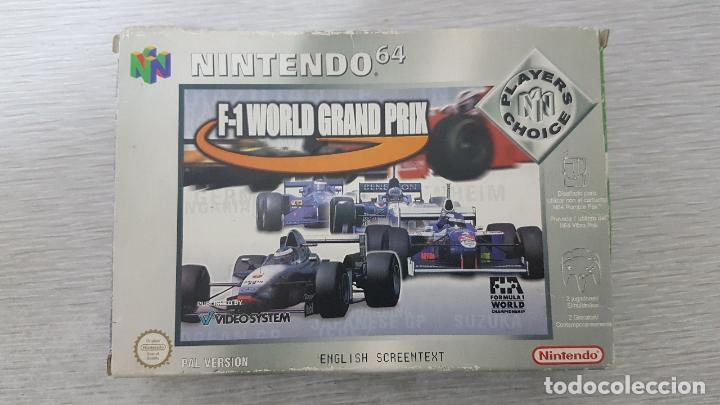 Videojuegos y Consolas: F-1 WORLD GRAND PRIX - NINTENDO 64 - Foto 5 - 126362911