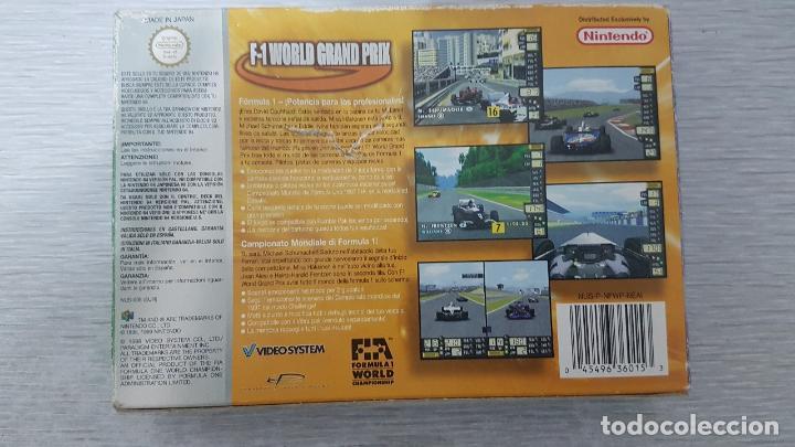 Videojuegos y Consolas: F-1 WORLD GRAND PRIX - NINTENDO 64 - Foto 6 - 126362911