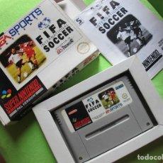 Videojuegos y Consolas: JUEGO SUPER NINTENDO FIFA INTERNACIONAL SOCCER 1994 - EM SPORTS. Lote 126868263