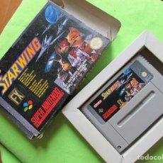 Jeux Vidéo et Consoles: JUEGO SUPER NINTENDO - STARWING. Lote 171029012
