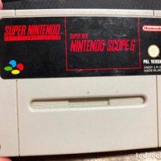 Videojuegos y Consolas: VIDEOJUEGO PARA SUPER NINTENDO SNES - SUPER NES NINTENDO SCOPE 6. Lote 126976891
