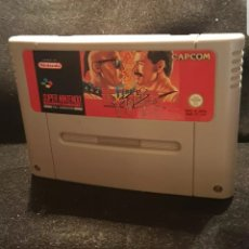 Videojuegos y Consolas: NINTENDO SNES FINAL FIGHT. Lote 128994392