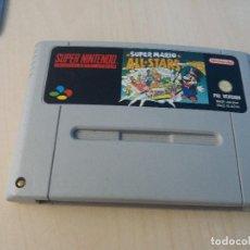 Videojuegos y Consolas: JUEGO SOLO CARTUCHO SUPER NINTENDO SUPER MARIO ALL STARS. Lote 129432303