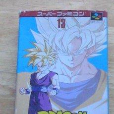 Videojogos e Consolas: DRAGON BALL Z 2 - JAPONÉS - SUPER FAMICOM SNES / NTSC. Lote 129678295