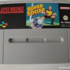 Videojuegos y Consolas: SUPER NINTENDO - SUPER SOCCER. Lote 129974603