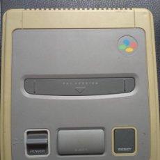 Videojuegos y Consolas: CONSOLA SNES SUPER NINTENDO FUNCIONANDO. Lote 129985543