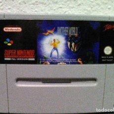 Videojuegos y Consolas: ANOTHER WORLD SUPER NINTENDO SNES. Lote 130732244