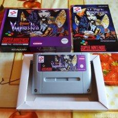 Videojuegos y Consolas: CASTLEVANIA VAMPIRE KISS SNES. Lote 130977112
