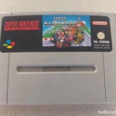 Videojuegos y Consolas: SUPER MARIO KART PAL-ESPAÑA SUPER NINTENDO SNES . Lote 131091484