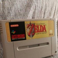 Videojuegos y Consolas: JUEGO SUPER NINTENDO- THE LEGEND OF ZELDA, A LINK TO THE PAST, PAL VERSION (JAPAN), 1992.. Lote 131514083