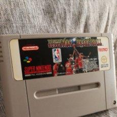 Videojuegos y Consolas: JUEGO SUPER NINTENDO- TECMO SUPER NBA BASKETBALL, PAL VERSION (JAPAN), 1993.. Lote 131514634
