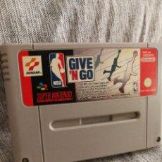 Videojuegos y Consolas: JUEGO SUPER NINTENDO- GIVE 'N GO- (JAPAN), 1995.. Lote 131518114