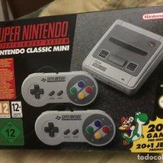 Videojuegos y Consolas: CONSOLA SUPER NES CLASSIC MINI - SUPER NINTENDO. Lote 131702838