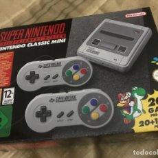 Videojuegos y Consolas: CONSOLA SUPER NES CLASSIC MINI - SUPER NINTENDO. Lote 131703214