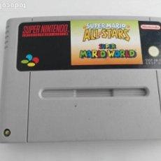 Videojuegos y Consolas: JUEGO PARA SUPER NINTENDO SUPER MARIO ALL STARS MARIO WORLD. Lote 132883674