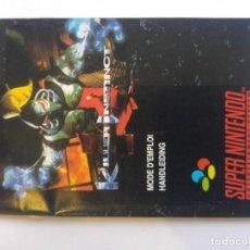 Videojuegos y Consolas: KILLER INSTINCT ONLY BOOKLET SUPER NINTENDO SNES PAL-FRANCE PAL-DUTCH. Lote 182389441