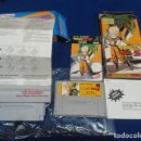 Videojuegos y Consolas: JUEGO Y ADAPTADOR SUPER NINTENDO DRAGON BALL Z ( JAPAN ) FAMICOM BAN DAI - ADAPTADOR HONEY BEE BIEN. Lote 122614775