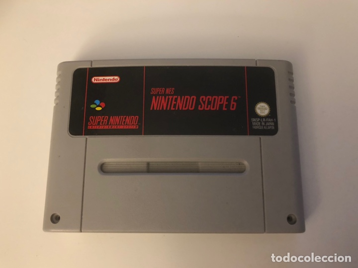 SUPER NINTENDO SCOPE 6, CARTUCHO SUPER NINTENDO. (Juguetes - Videojuegos y Consolas - Nintendo - SuperNintendo)