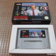 Videojuegos y Consolas: SNES JOHN MADDEN FOOTBALL 93 PAL ESPAÑA SUPER NINTENDO EA SPORTS. Lote 268307884