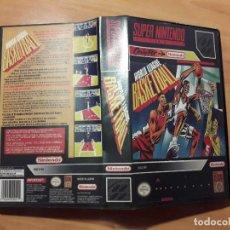 Videojuegos y Consolas: 08-00298 SUPER NINTENDO- JUEGO WORLD LEAGUE BASKETBALL. Lote 137932130
