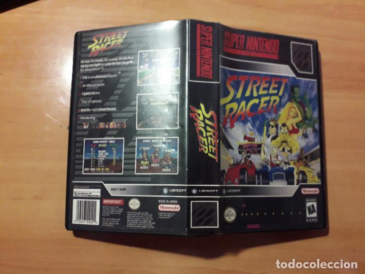 08-00299 SUPER NINTENDO- JUEGO STREET RACER (Juguetes - Videojuegos y Consolas - Nintendo - SuperNintendo)