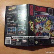 Videojuegos y Consolas: 08-00299 SUPER NINTENDO- JUEGO STREET RACER. Lote 137932282