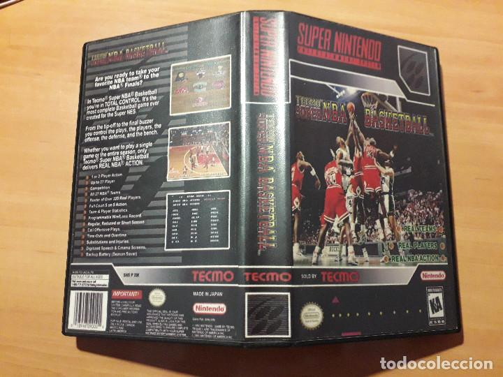 08-00300 SUPER NINTENDO- JUEGO TECMO SUPER NBA BASKETBALL (Juguetes - Videojuegos y Consolas - Nintendo - SuperNintendo)