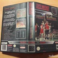 Videojuegos y Consolas: 08-00300 SUPER NINTENDO- JUEGO TECMO SUPER NBA BASKETBALL. Lote 137932418