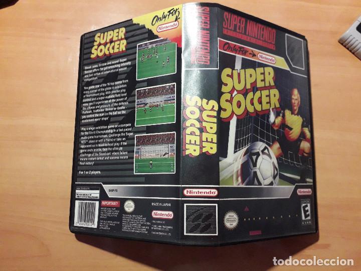 08-00301 SUPER NINTENDO- JUEGO SUPER SOCCER (Juguetes - Videojuegos y Consolas - Nintendo - SuperNintendo)