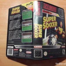 Videojuegos y Consolas: 08-00301 SUPER NINTENDO- JUEGO SUPER SOCCER. Lote 137932554