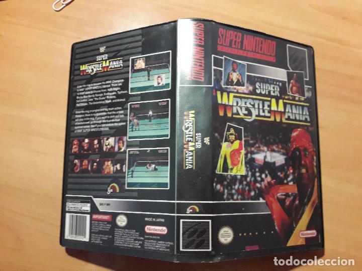08-303 SUPER NINTENDO- JUEGO SUPER WRESTLE MANIA (Juguetes - Videojuegos y Consolas - Nintendo - SuperNintendo)