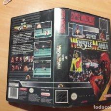 Videojuegos y Consolas: 08-303 SUPER NINTENDO- JUEGO SUPER WRESTLE MANIA. Lote 137932874