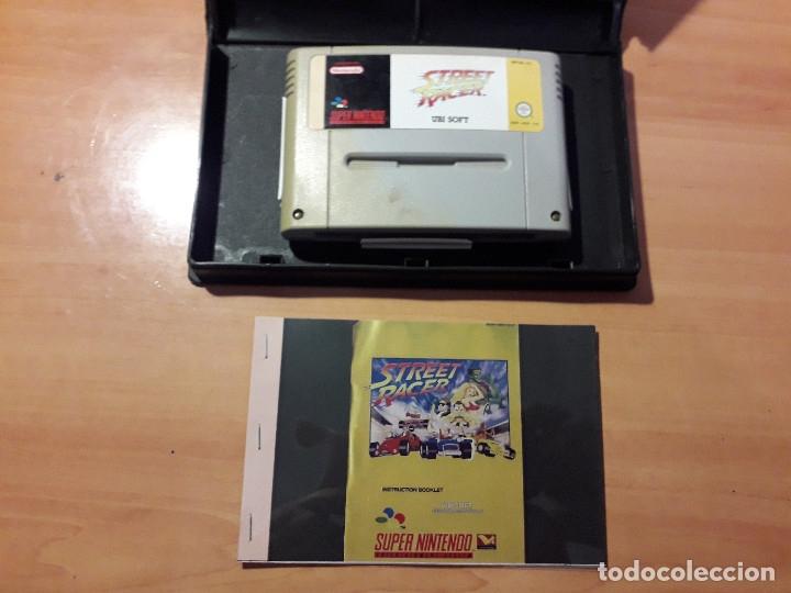 Videojuegos y Consolas: 08-00299 SUPER NINTENDO- JUEGO STREET RACER - Foto 2 - 137932282