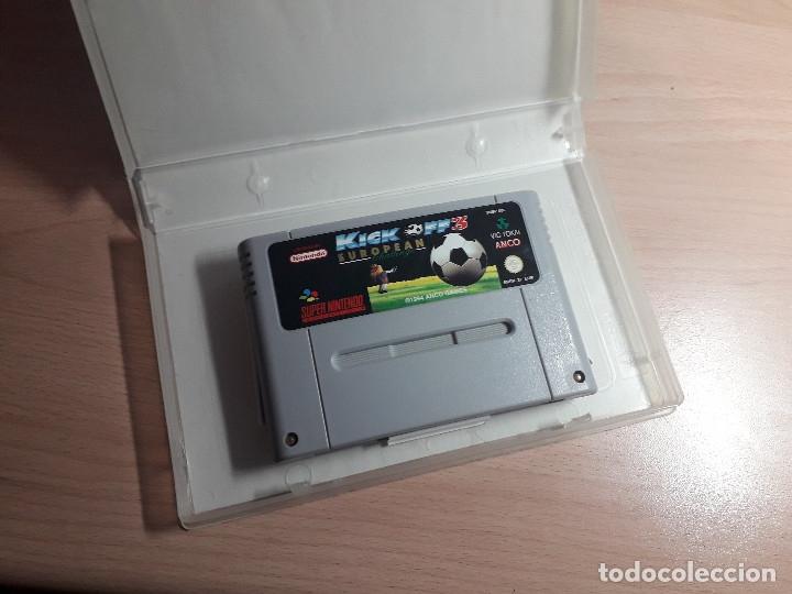 Videojuegos y Consolas: 08-00302 SUPER NINTENDO- JUEGO KICK OFF 3 EUROPEAN CHALLENGE - Foto 3 - 137932734