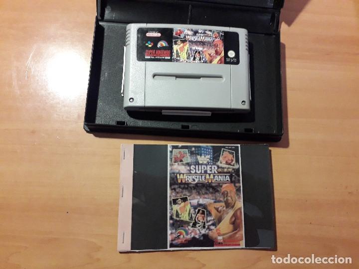Videojuegos y Consolas: 08-303 SUPER NINTENDO- JUEGO SUPER WRESTLE MANIA - Foto 2 - 137932874