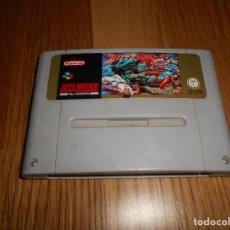 Videojuegos y Consolas: JUEGO SUPER NINTENDO -SNES- STREET FIGHTER II. Lote 138002626