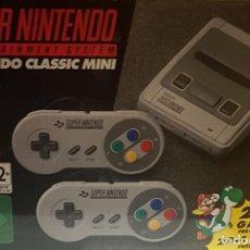 Videojuegos y Consolas: SUPER NES MINI+2 MANDOS+JUEGOS(200)O ASI.. Lote 174382325