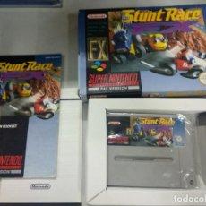 Videojuegos y Consolas: STUNT RACE FX - SUPER NINTENDO SNES - COMPLETO - PAL. Lote 261206820