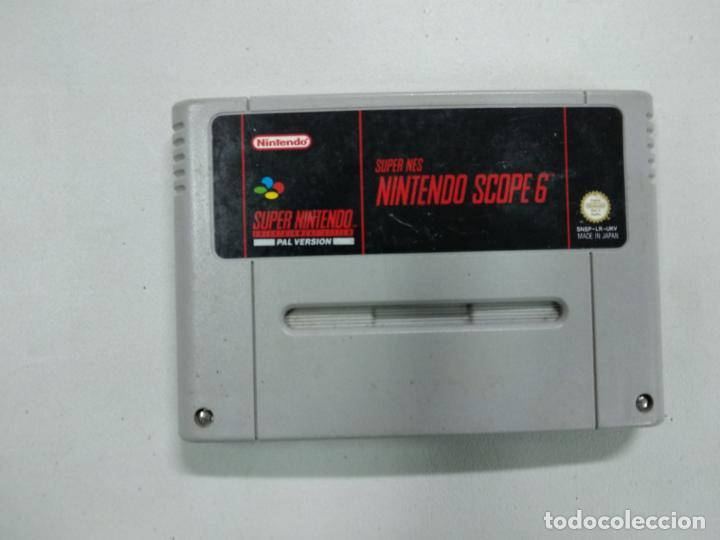 SUPER NES NINTENDO SCOPE 6 - SUPER NINTENDO SNES - PAL (Juguetes - Videojuegos y Consolas - Nintendo - SuperNintendo)