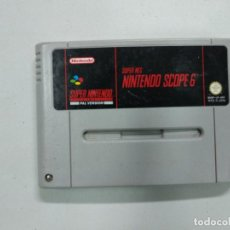 Videojuegos y Consolas: SUPER NES NINTENDO SCOPE 6 - SUPER NINTENDO SNES - PAL. Lote 140241902