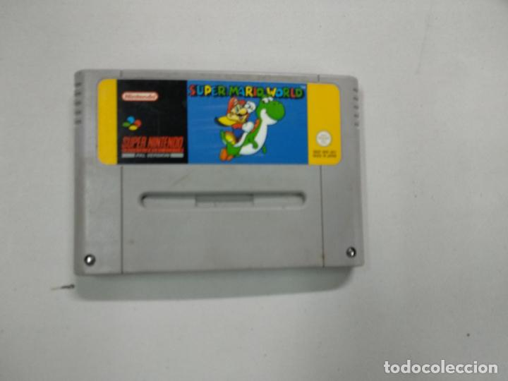SUPER MARIO WORLD - SUPER NINTENDO SNES - PAL (Juguetes - Videojuegos y Consolas - Nintendo - SuperNintendo)